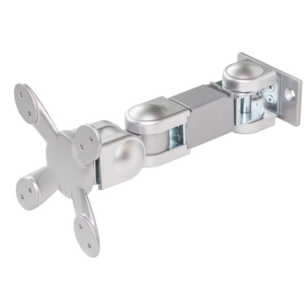 Monitor Arm, 3 snodi - VESA 75/100, Silver